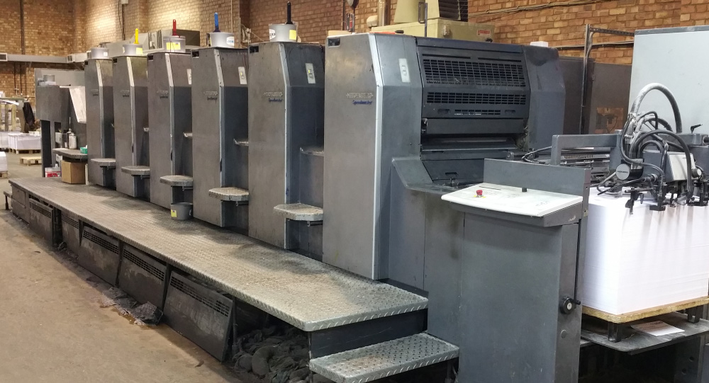 Presses | Simmons Printers